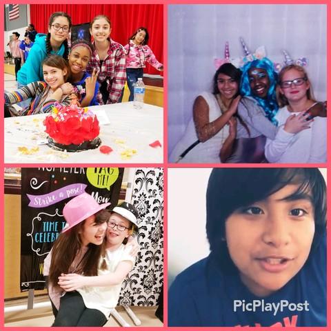 Clarabella, Madi, Natalia, Natalie, Riley, Juliet, Ellie and I take a girls trip!