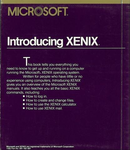Microsoft Xenix