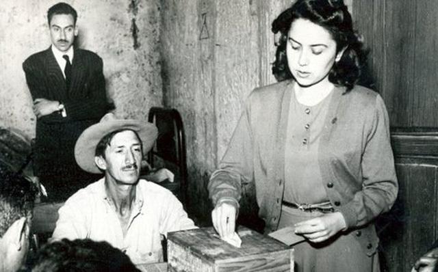 El voto a la mujer en México