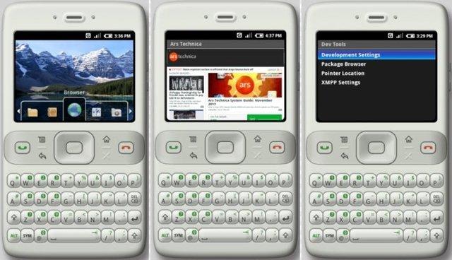 Android 0.5 Milestone 3