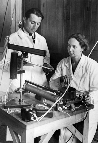 Frederick e Irene Joliot- Curie