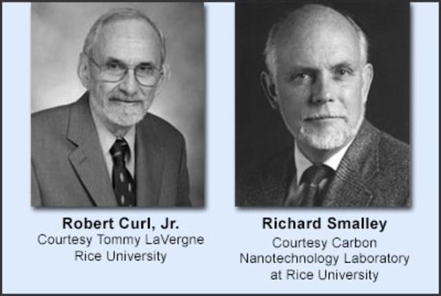 Richard E. Smalley, Robert F. Curl yHarold W. Kroto