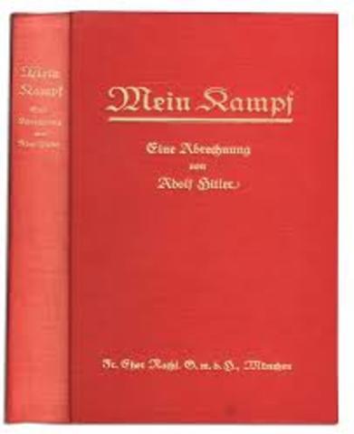 Publication du volume I de Mein Kampf