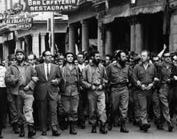 The Rebellion in Cuba