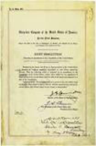 16th Amendment is passed