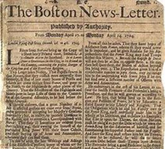 First Newspaper