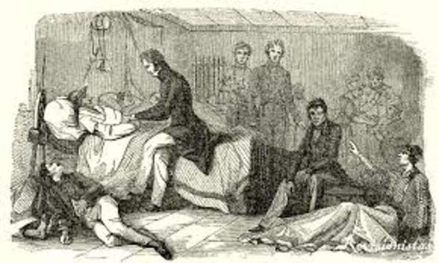 Sarampión, difteria y peste bubónica