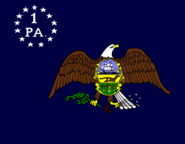 Pennsylvania is Founded