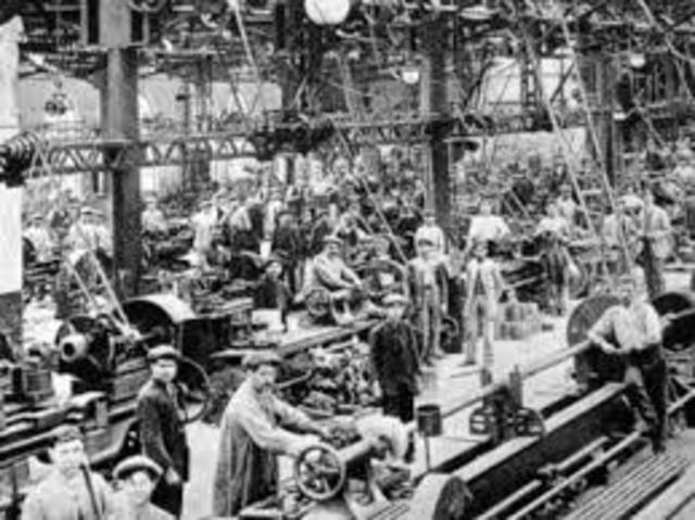 The Industrial Revolution 1760 – 1800s