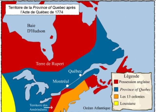 L'Acte de Québec cont.