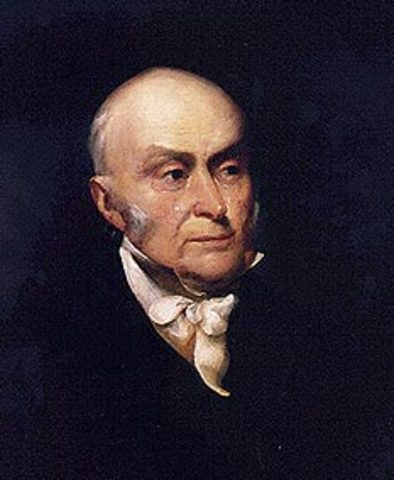 John Quincy Adams Takes Presidential Oath of Office