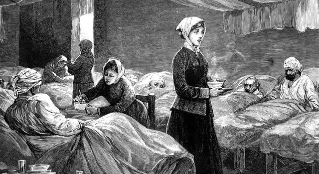 Florence Nightingale y las 38 enfermeras