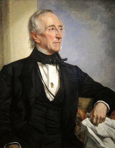 John Tyler takes Oath as 10th President of USA