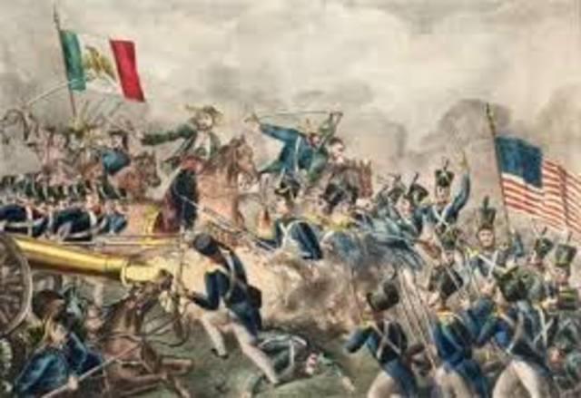 Mexican War Begins