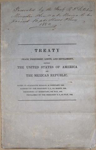 Mexican War Ends