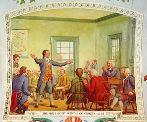 1st Continental Congress is Held