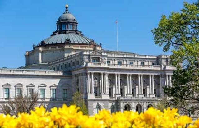 Library of Congress is Founded