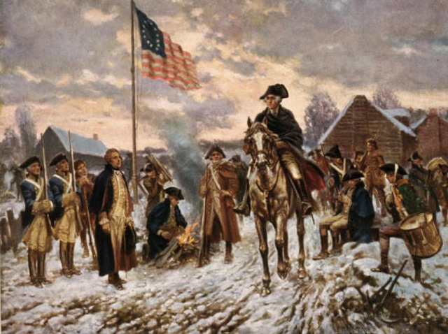 -1778 Washington Occupies Valley Forge