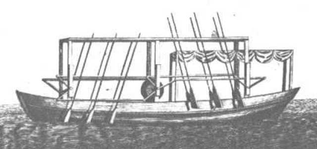 John Fitch Invents The Steamboat