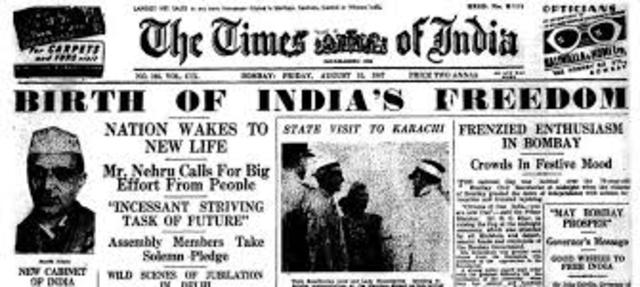 India Earns its Independence