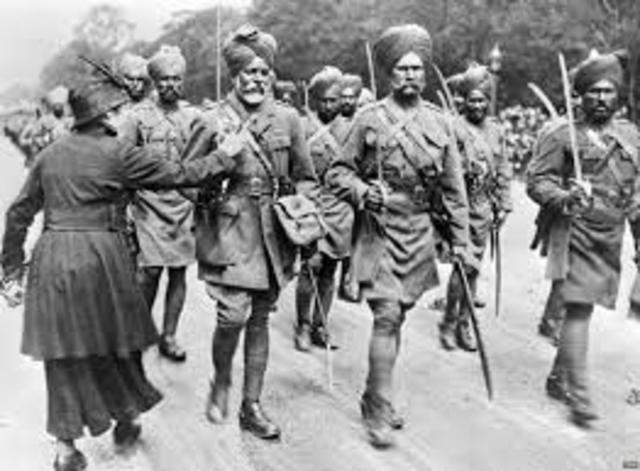 World War 1 Indian Involvement