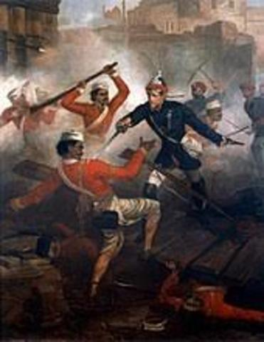 Sepoy Mutiny (First was of Indian independence)