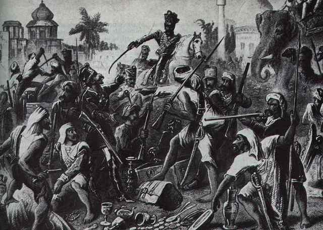 First Indian Revolution (Sepoy Mutiny)