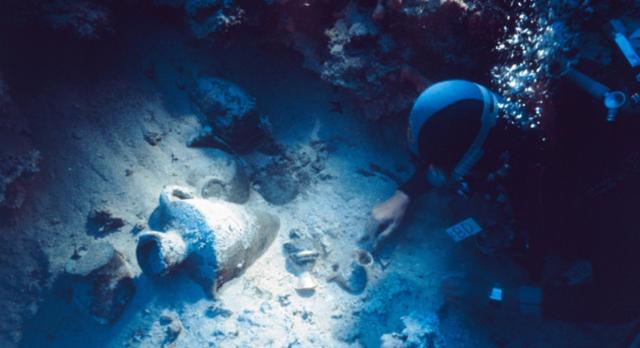 Shipwreck at Uluburun