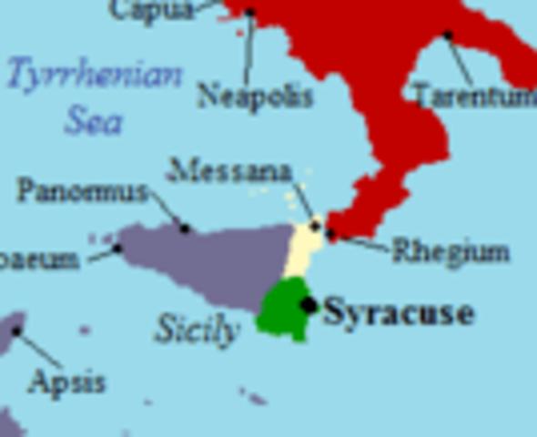 Syracuse Established