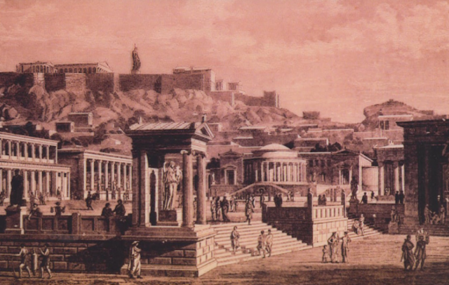 Height of Athens