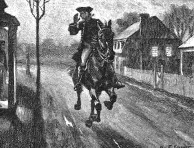 """Paul Revere & William Dawes """"Midnight Rides"""""""