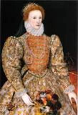 Queen Elizabeth I Gives E.I.C a Royal Charter