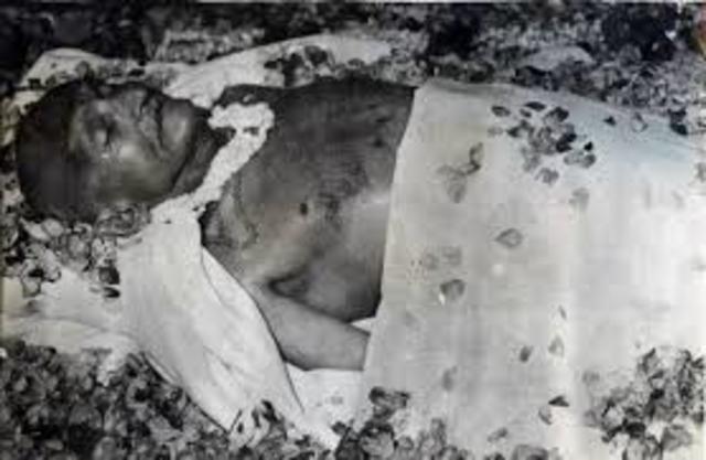 Mahatma Gandhi Death