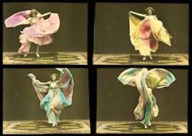 Las primeras películas coloreadas a mano