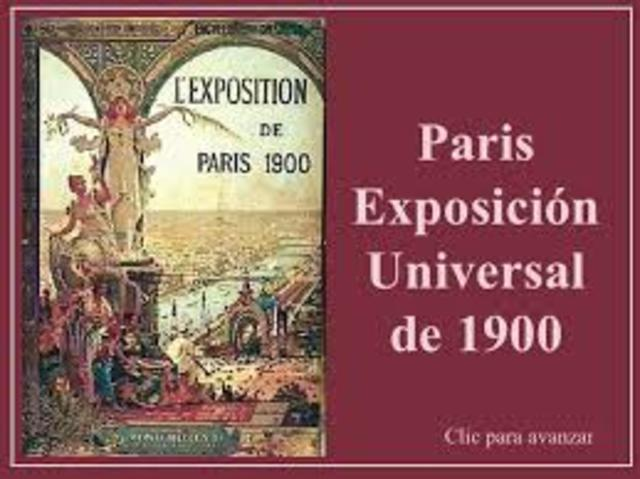 El cine consigue un gran éxito en la Exposición Universal de París.