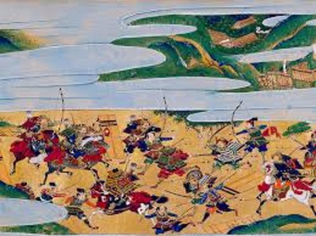 The start of the Sengoku Period