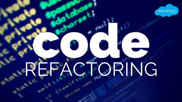La Refactorización de código