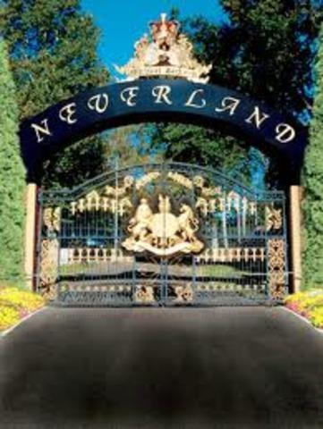 Neverland Ranch built