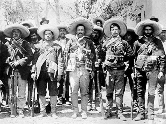 20 Noviembre 1910 Levantamiento en Armas