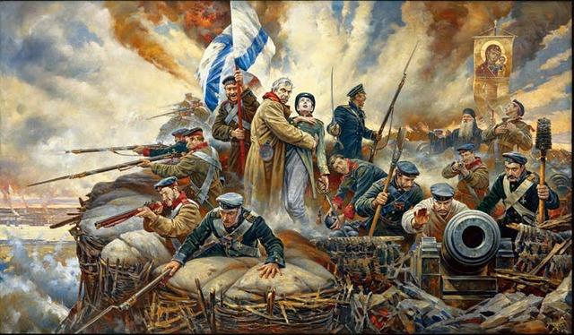 Участие в Крымской войны