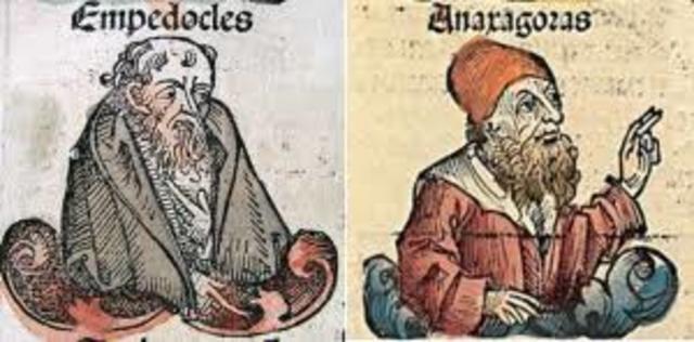 Anaxágoras y Empédocles