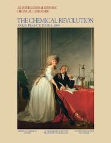 Antoine-Laurent de Lavoisier y Marie-Anne Pierrette Paulze