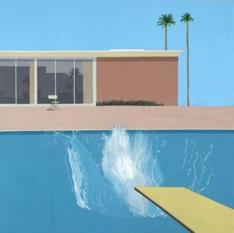 A bigger splash - David HOCKNEY