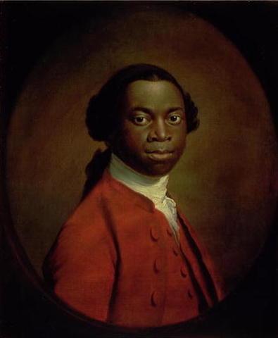 Portrait d'un africain - Allan RAMSAY