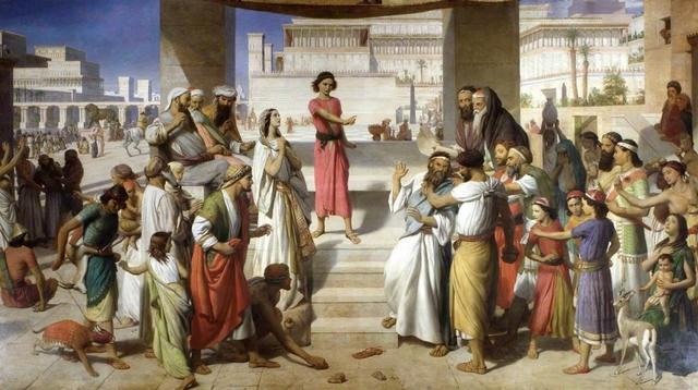 The Judgement of Daniel - John ROGERS-HERBERT