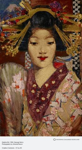 Geisha Girl - George HENRY