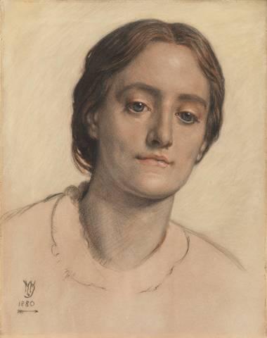 Portrait of Mrs Edith Holman Hunt - William Holman Hunt