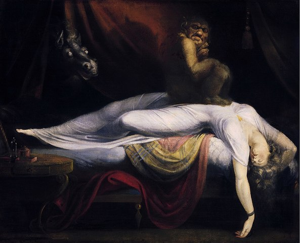 Le cauchemar - Johann Heinrich FUSSLI