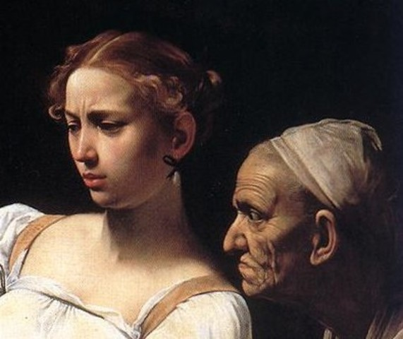 """Le Caravage """"Judith et Holopherne"""""""