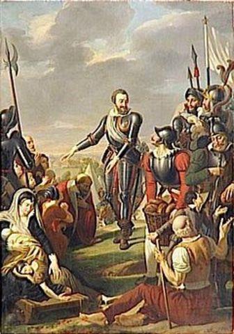 Siège de Paris par Henri IV
